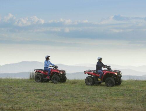 Mt Brisbane and Honda ATV's